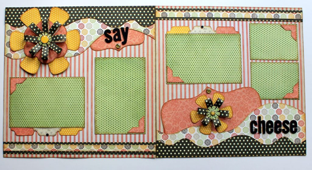say cheese 2 page layout