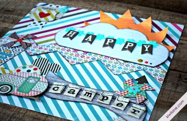 Happy Camper Closeup