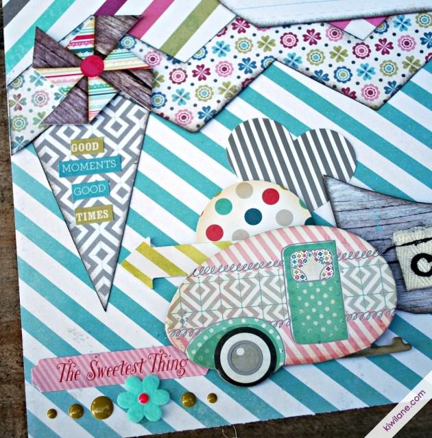 Happy Camper Embellishments