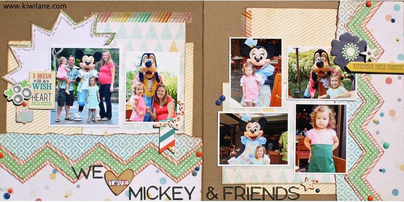 We Love Mickey Layout