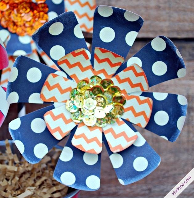 Fancy Pants Paper Flower