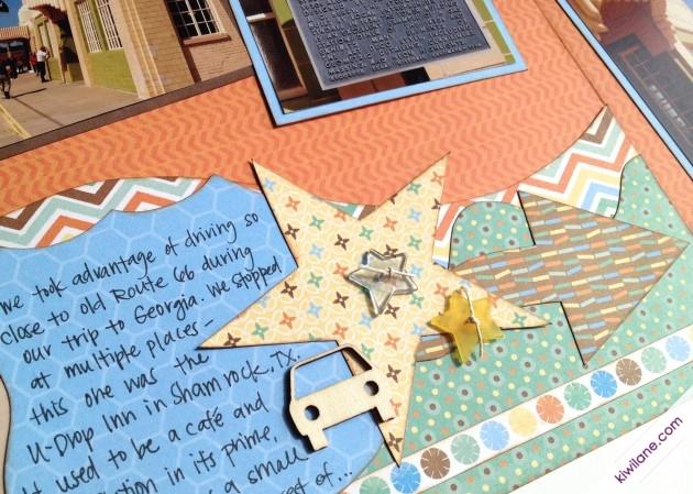 Closeup journaling in templates