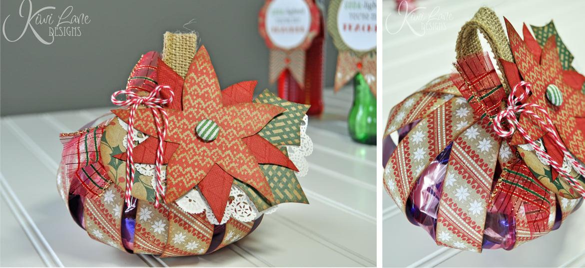ornament treat bag combo