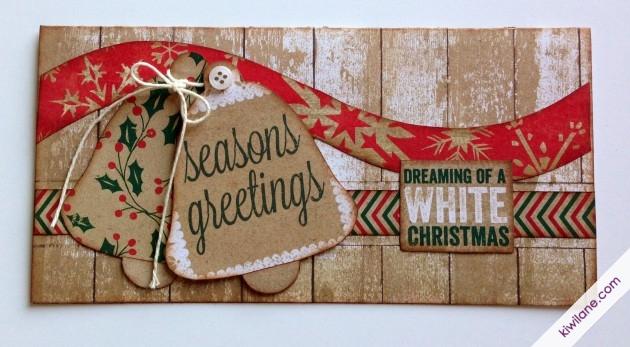 Seasons Greetings Christmas Card