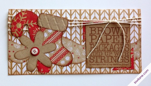 Brown Paper packages tied up with string card