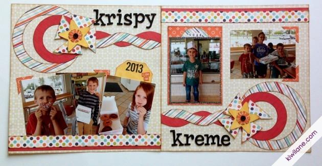 Krispy Kreme 2-Page Layout
