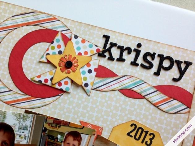 Mini Cascade Closeup- Krispy Kreme