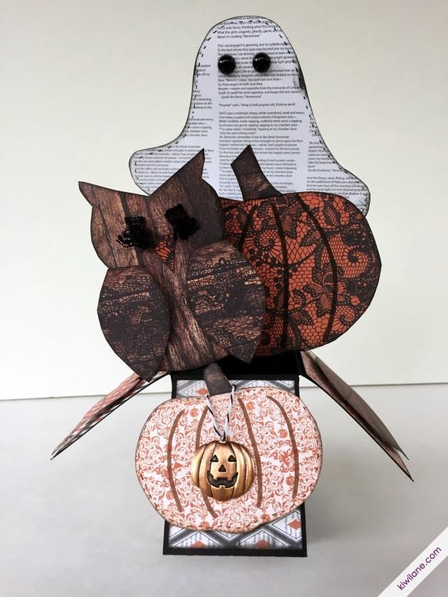 Halloween Box Decor
