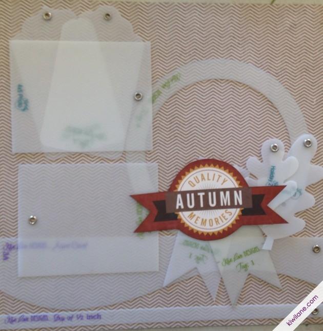Framed left Autumn Page