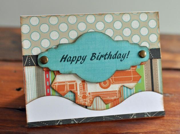 Happy Birthday Card Featuring Tiny Explore