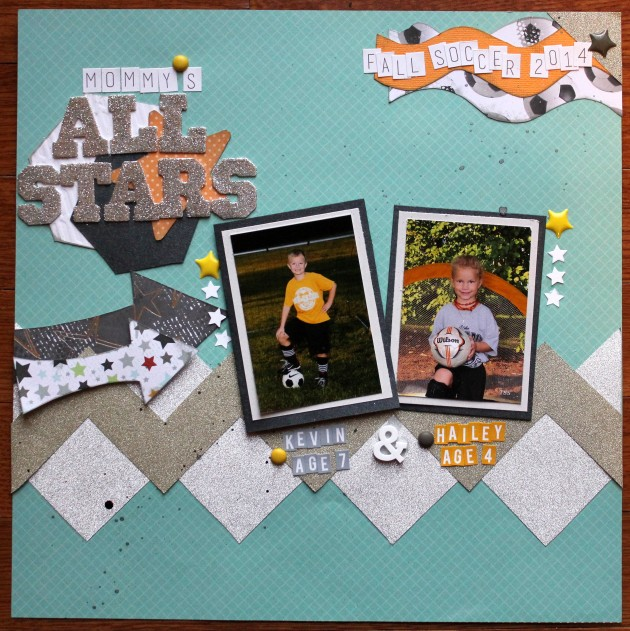 All Starts Soccer Sports page