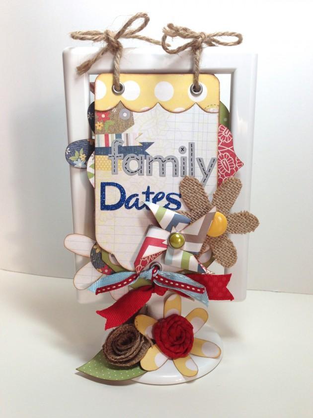 Family Dates Flip Calendar