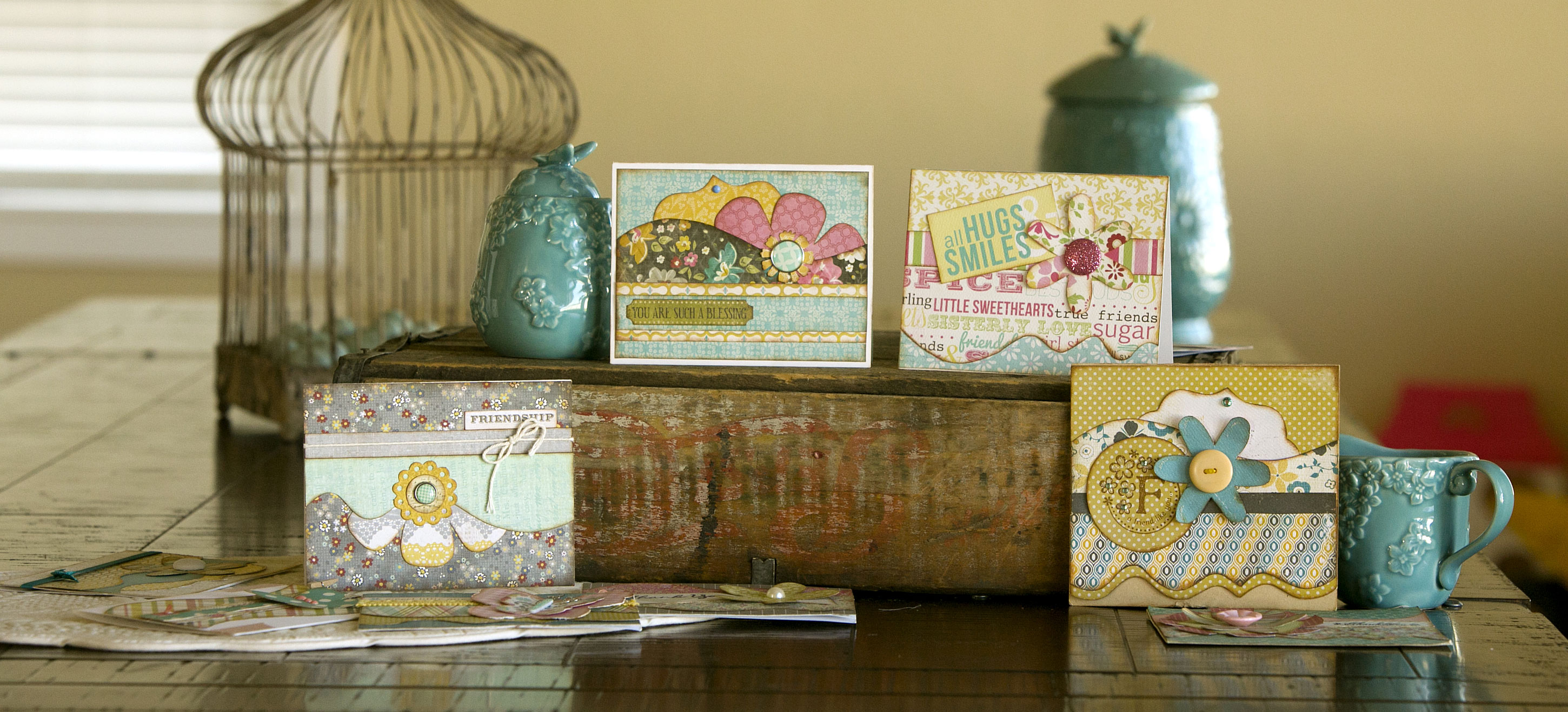 Find ideas for making beautiful, elaborate, homemade cards.
