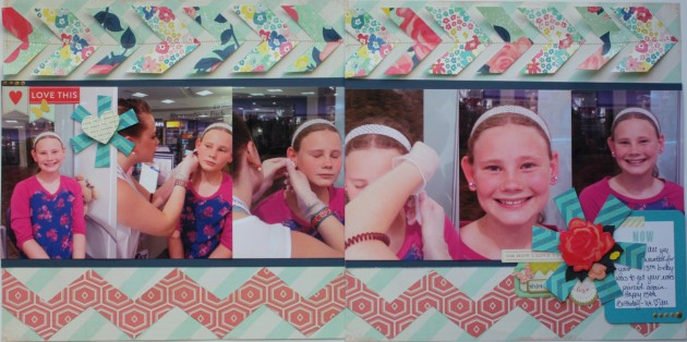 birthday earrings 2-page layout