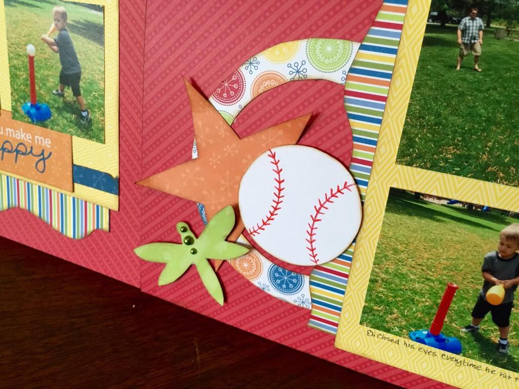 baseball rings closeup