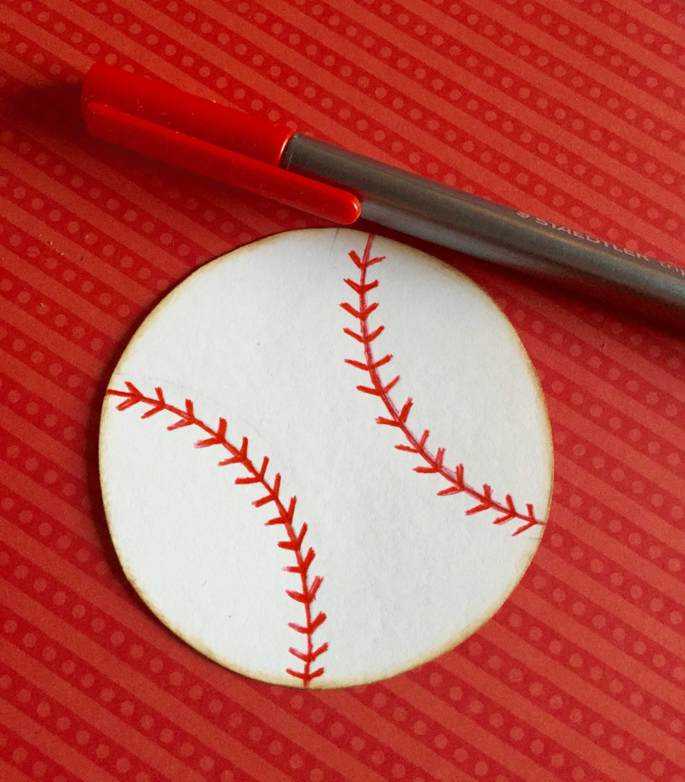 Baseball made from Rings 1