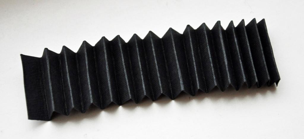 Fold an Acordian Strip