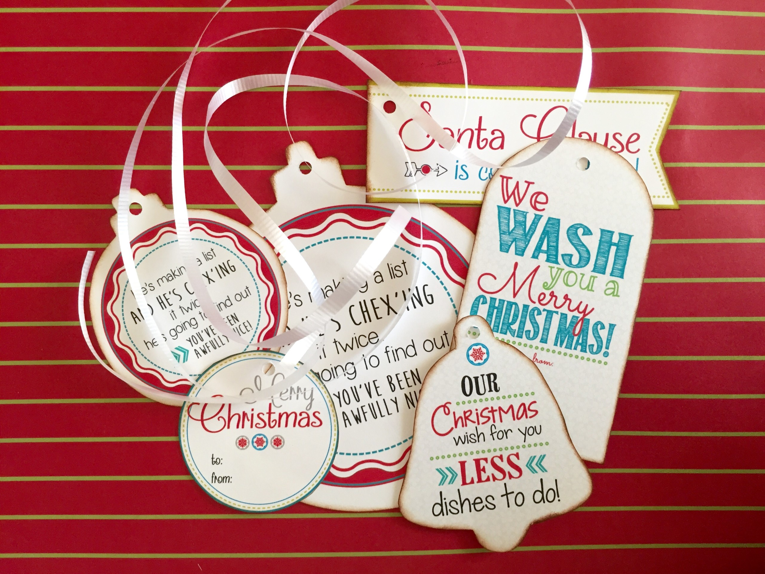 Christmas Gift Tags With Free Printable  Kiwi Lane Intended For Free Gift Tag Templates For Word