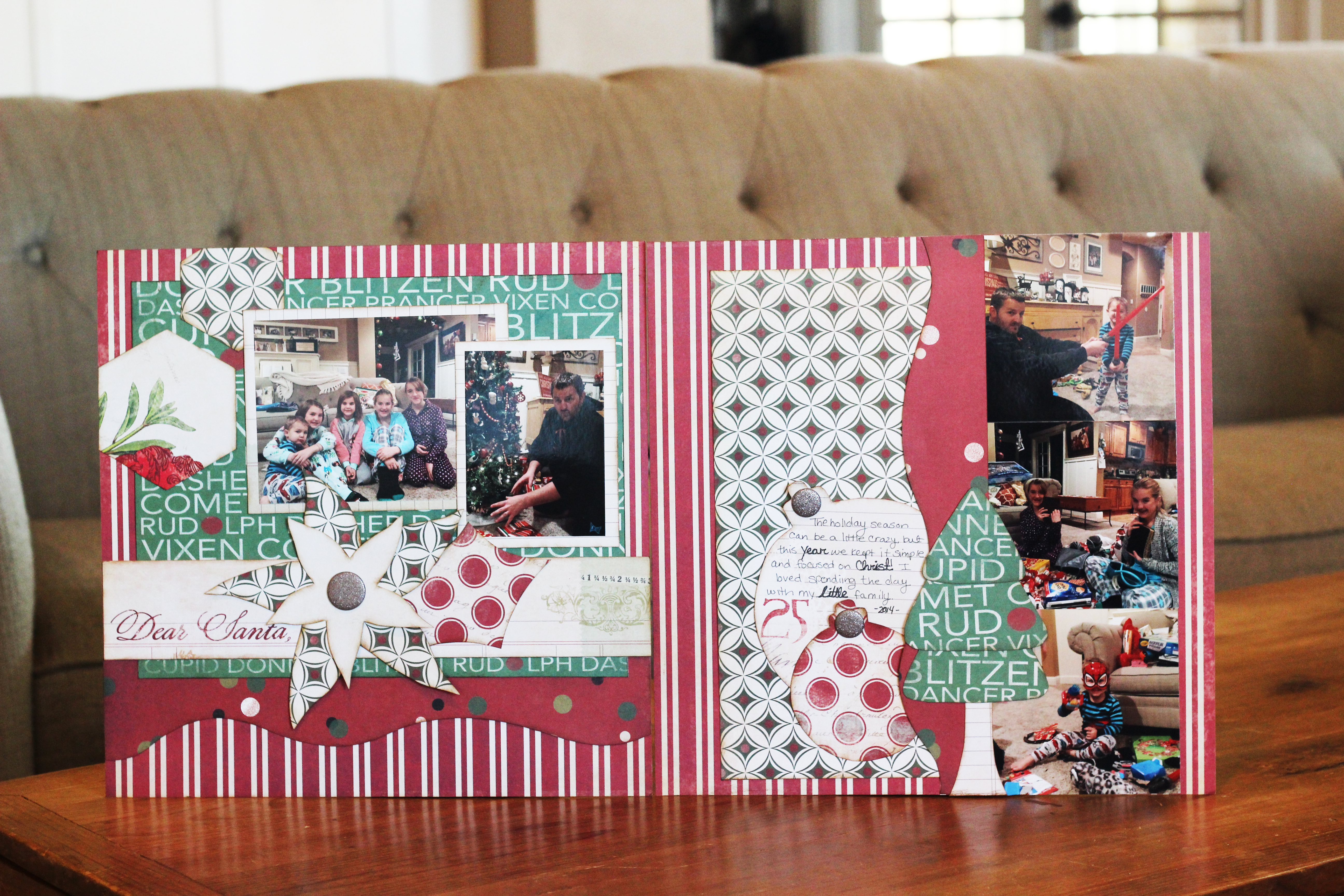 Merry Christmas 2 page Layout