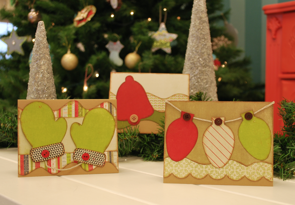 Simple Kiwi Christmas Cards
