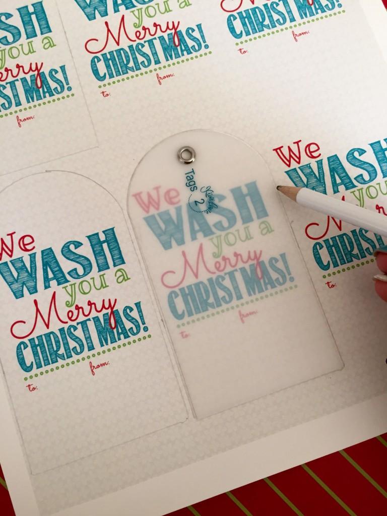 soap christmas saying