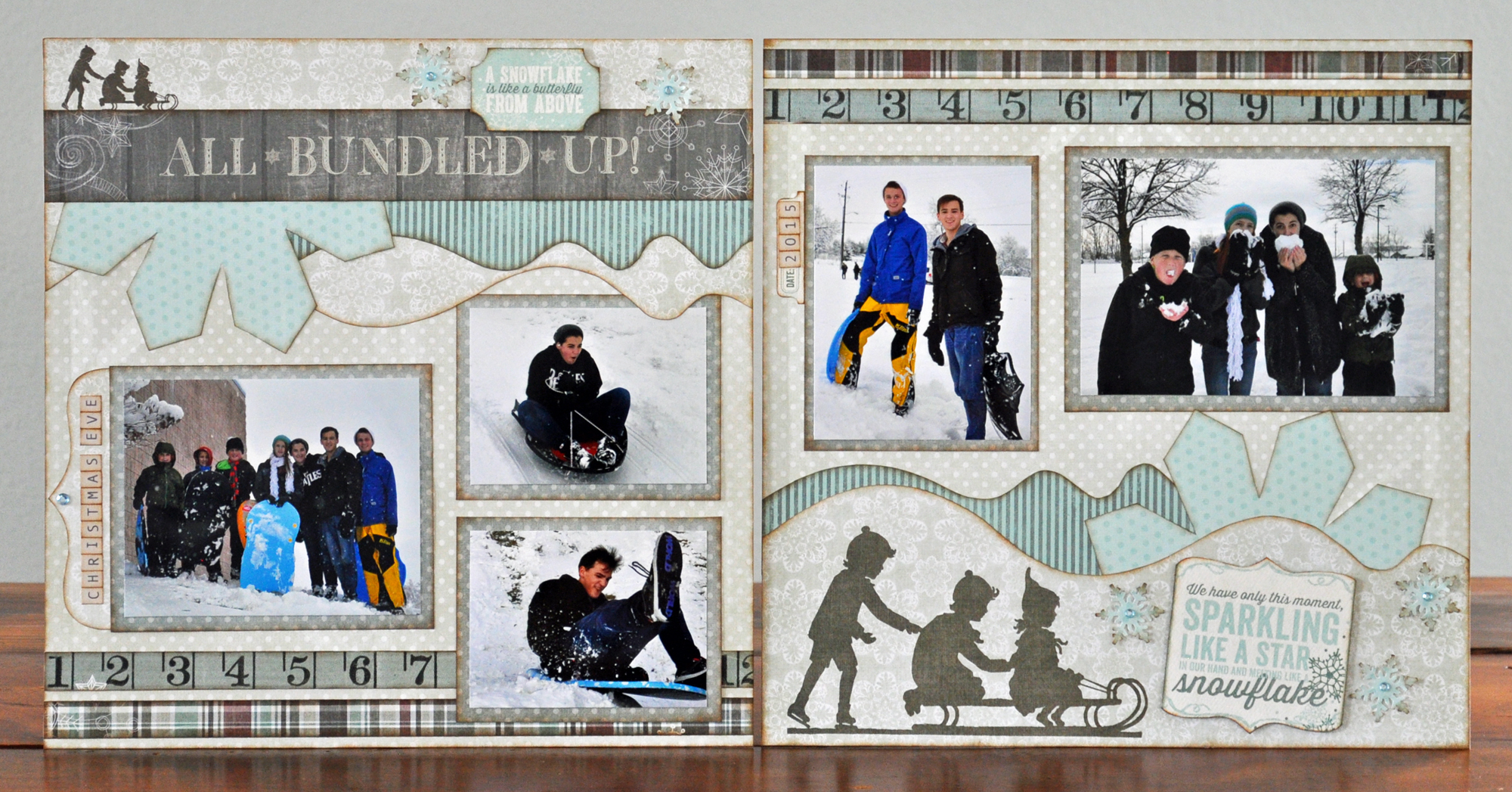 Winter Layout - All Bundled Up