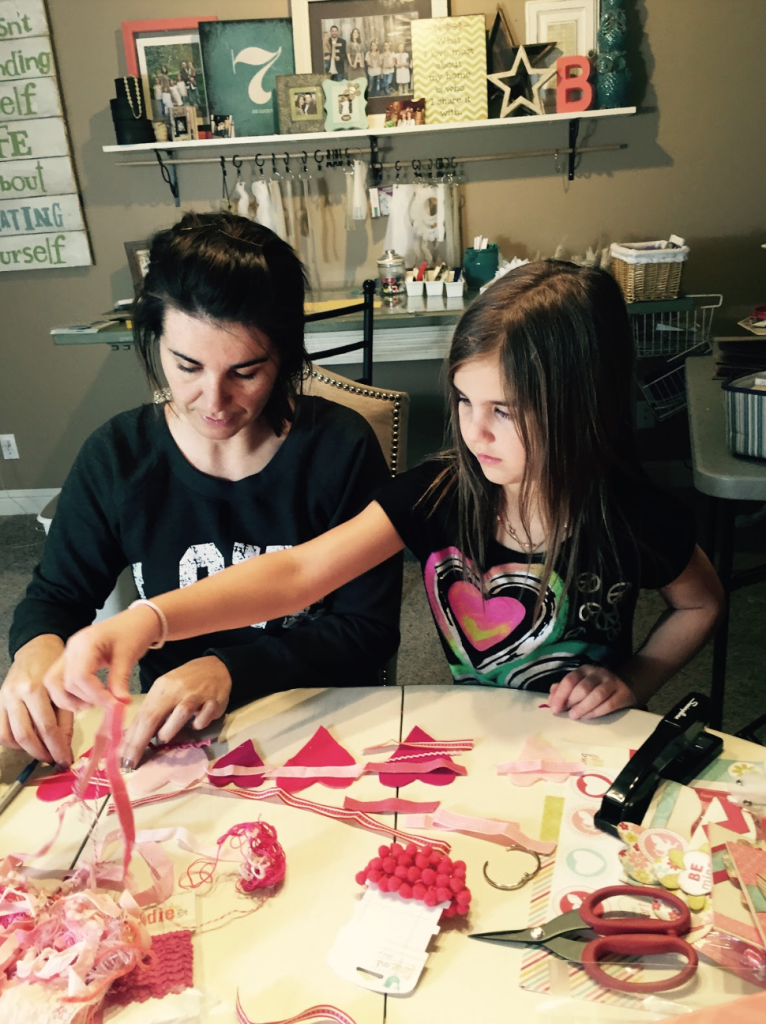 crafting with your childrens