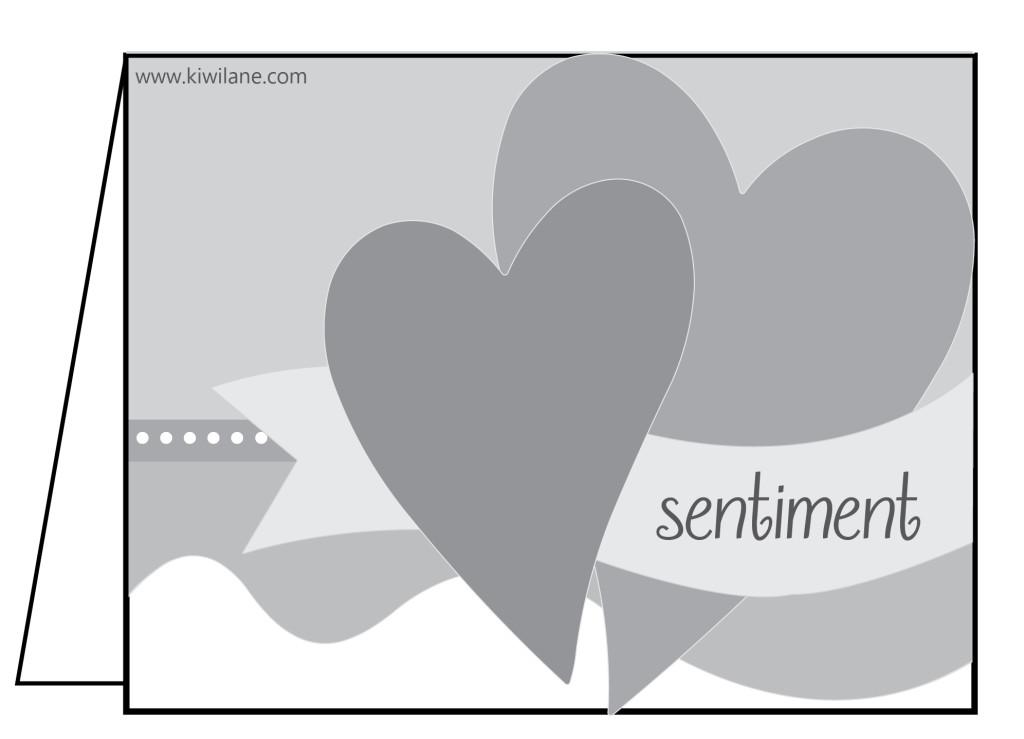 Valentine Card Sketch Challenge