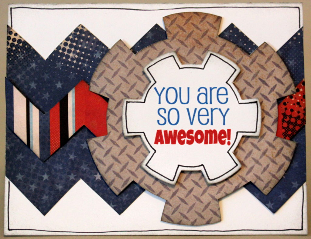 You are so very Awesome Gear Card