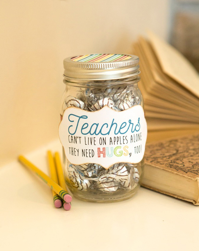 Hugs Jar - Back to School Teacher Gift