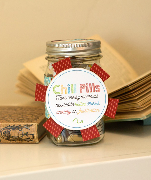 Chill Pills - Teacher Gift