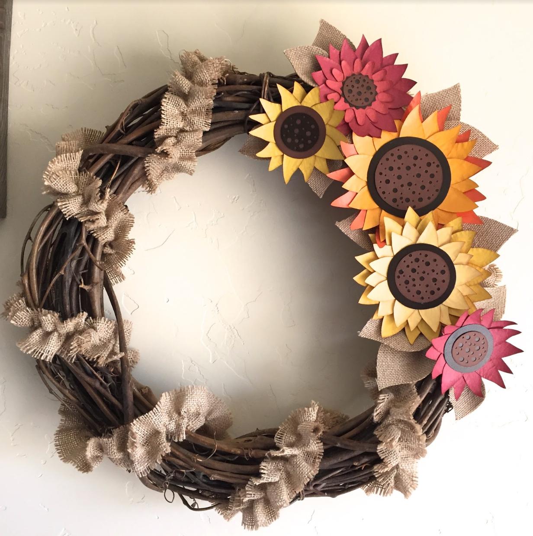 Fall Wreath - Home decor