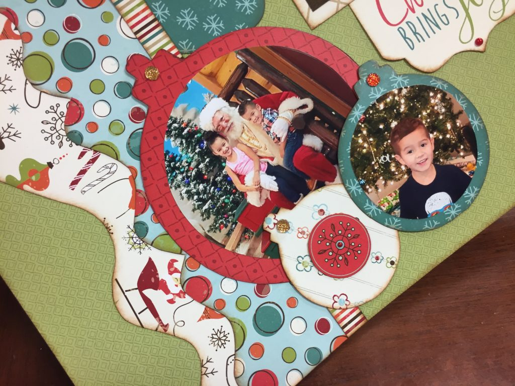 Circle Photos in Ornaments