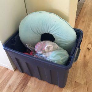 bucket of stuff