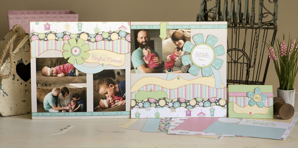 Carefree Layout - Baby/Family Layout