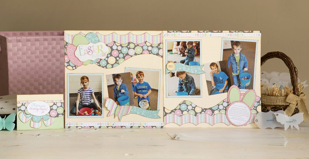 Carefree Layout - Easter