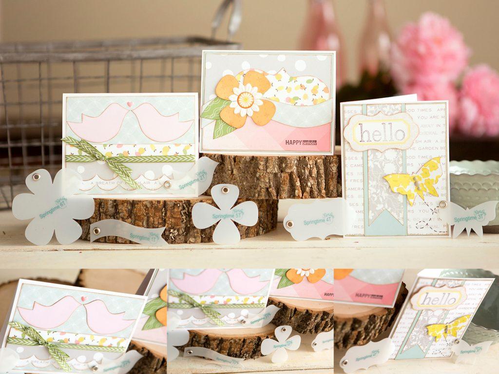 Tiny Springtime Card Samples