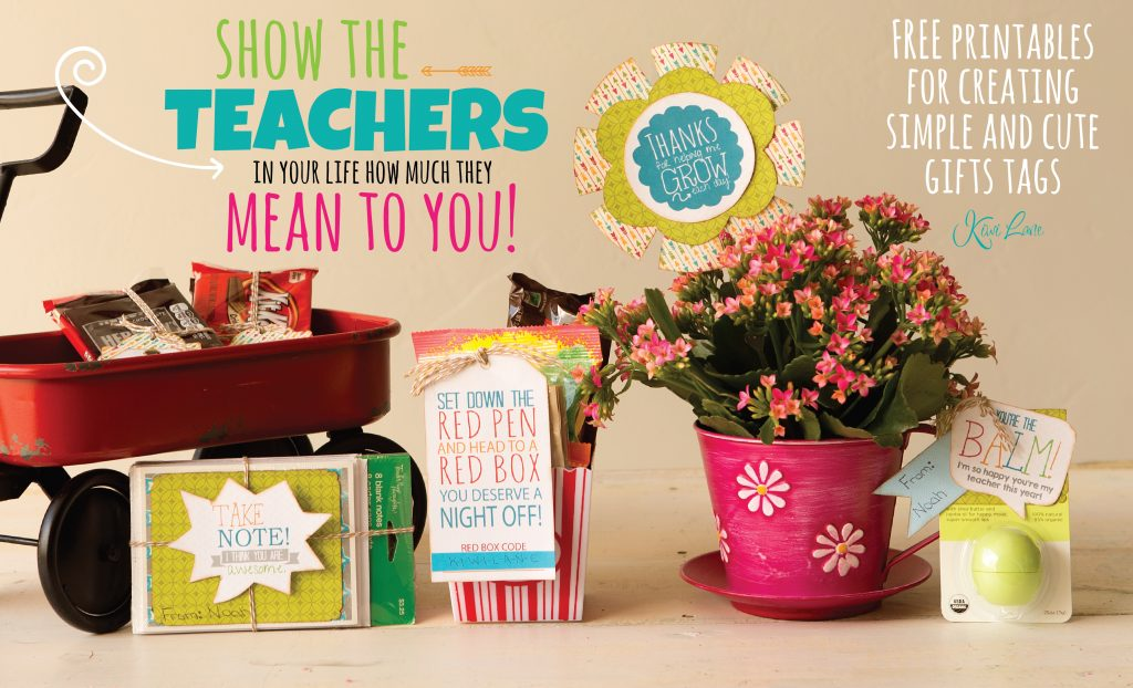 graphic about Redbox Teacher Appreciation Printable named Free of charge Trainer Appreciation Printable and Present Programs Kiwi Lane
