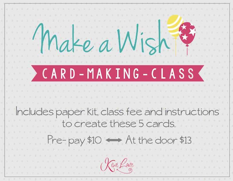 Make a Wish Card Class Thumbnail