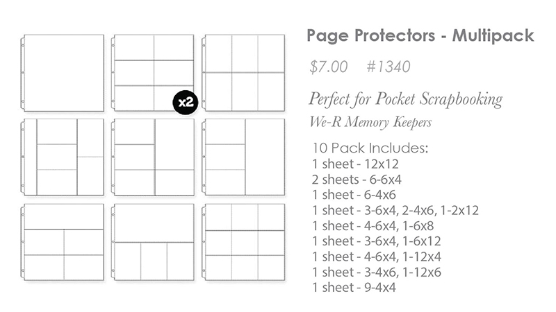 Page Protectors Multipack
