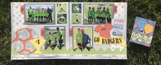 Soccer Layout & Card