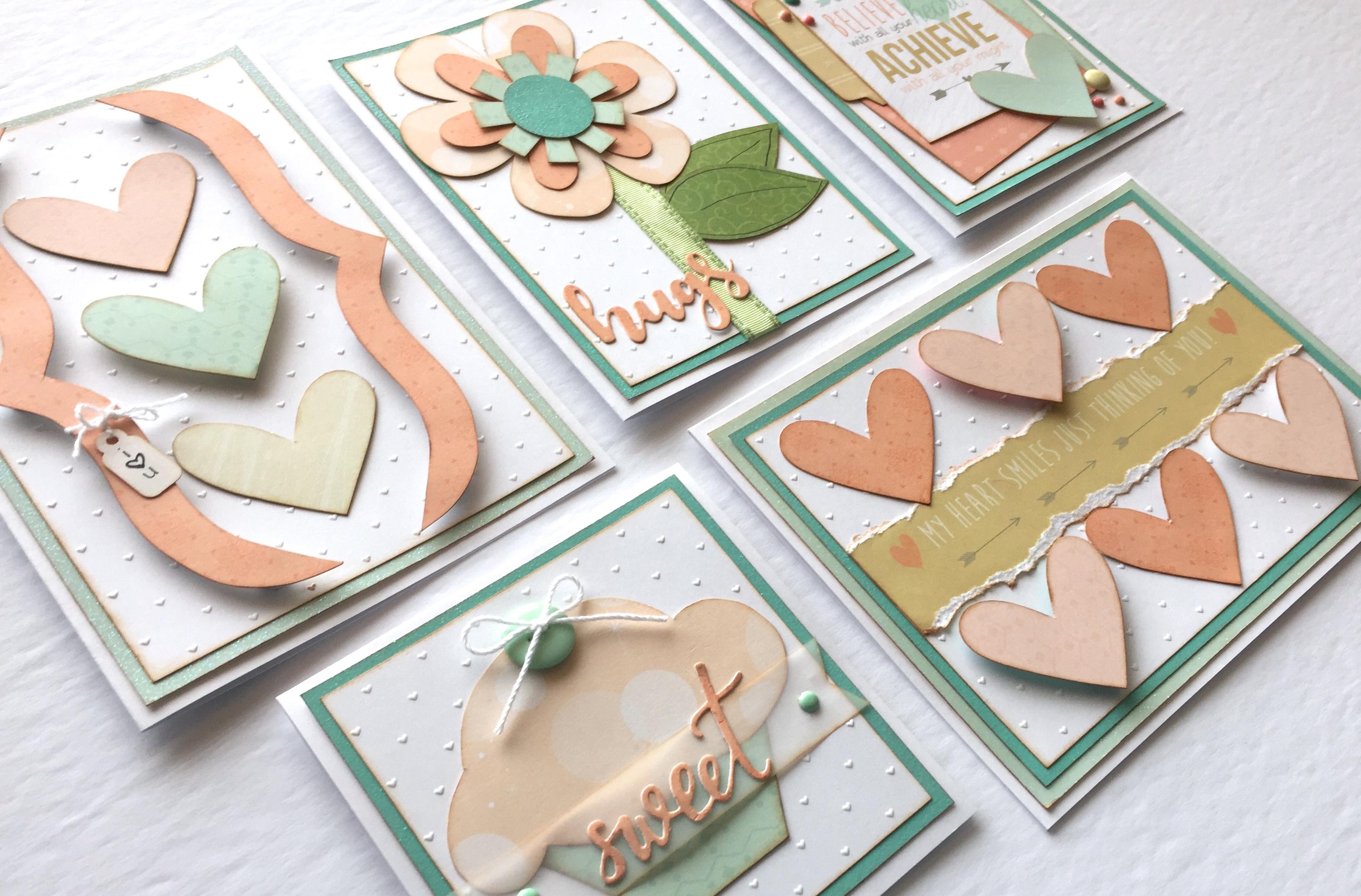 Shiny & New Layout Kit Cards