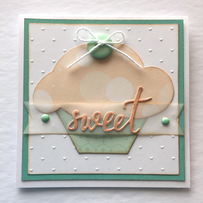sweet cupcake card