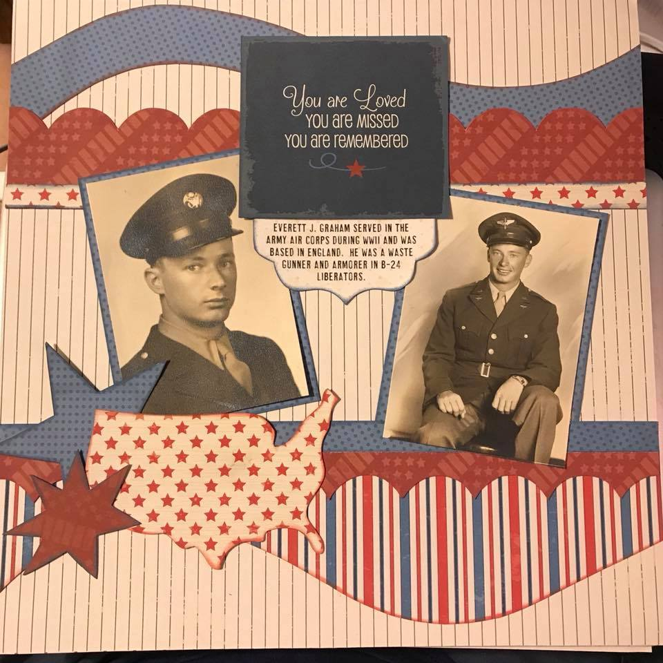 Military 1-page Layout by Jodi Schersand