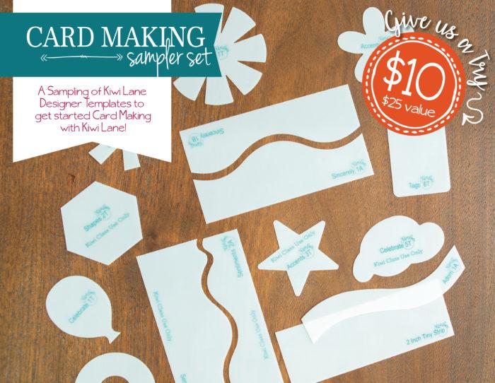 card making sampler set shop image