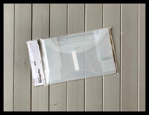 Designer Template Storage Card Box Shop Image