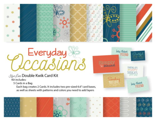 Every Day Occasions Double Kwik Card Kit Shop Image