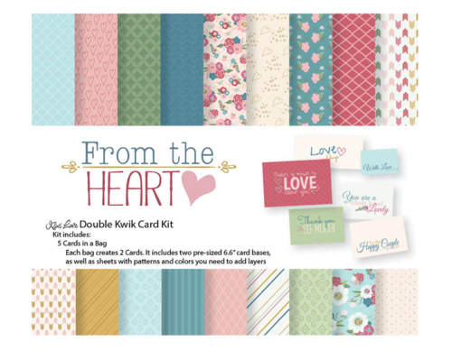 from the heart double kwik card kit shop image