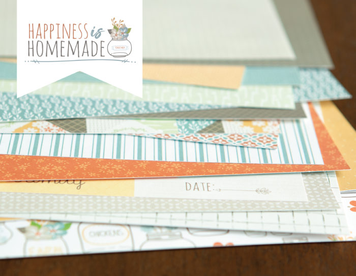 Happiness is Homemade Double Layout Paper Kit Shop Image