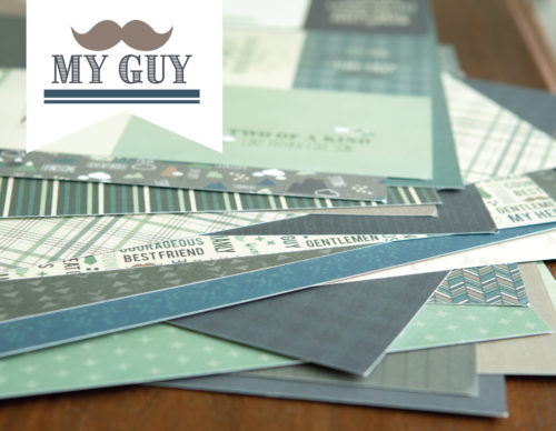 my guy double layout paper kit shop image
